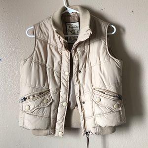 Jackets & Blazers - Cappuccino vest jacket